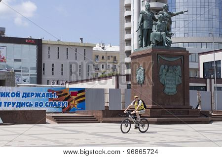 Monument to the founders of Novorossiysk