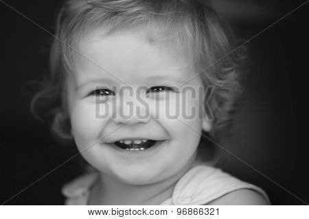 Portrait Of Little Child
