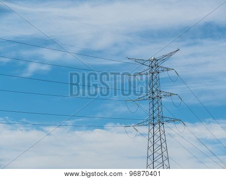 Modern Electricity Tower