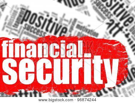 Word Cloud Financial Security