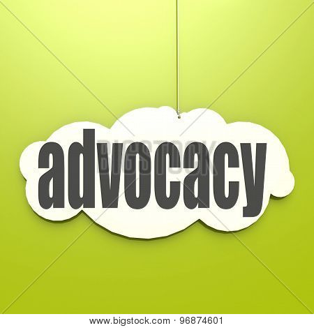 White Cloud With Advocacy