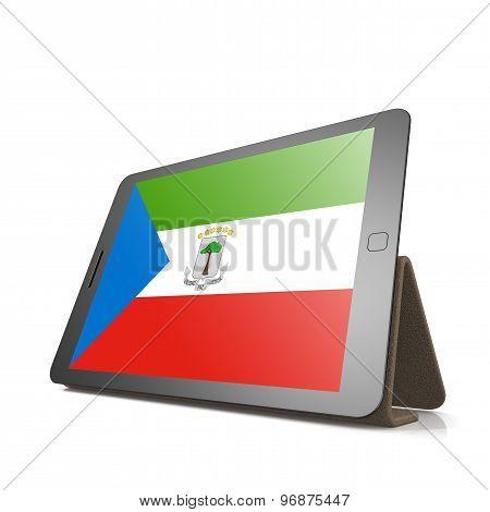 Tablet With Equatorial Guinea Flag