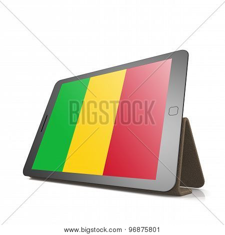 Tablet With Mali Flag