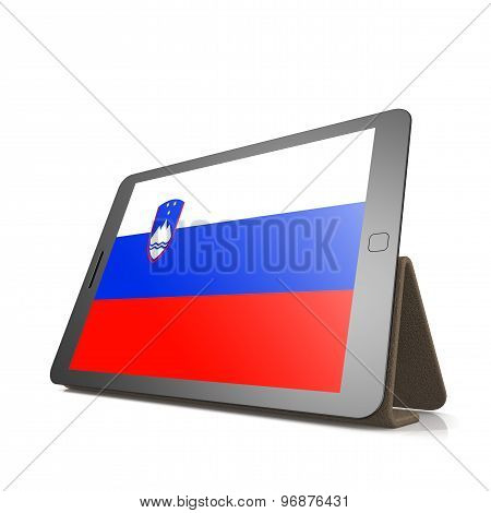 Tablet With Slovenia Flag