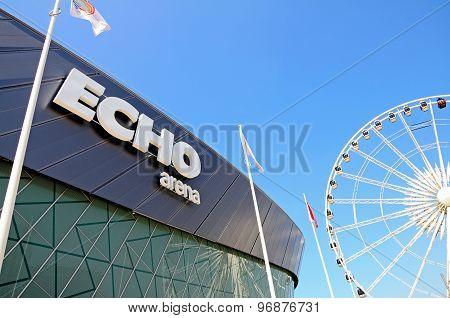 Echo Arena, Liverpool.