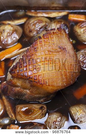 bavarian roast pork