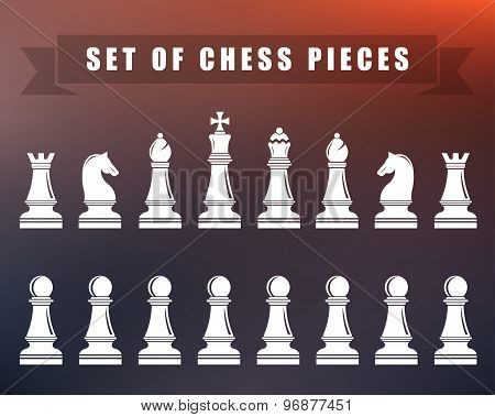 Chess Icons - Vector Illustration