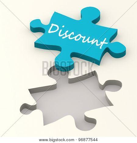 Discount Blue Puzzle