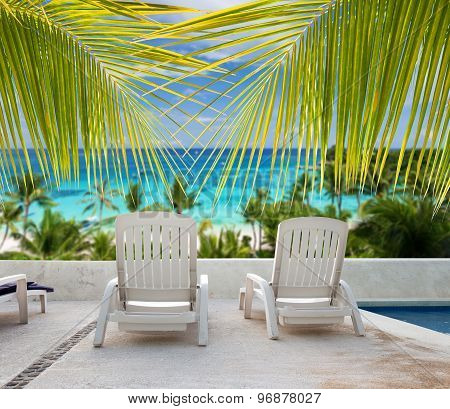 Seaview From Luxury Resort Balcony