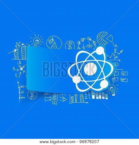 Drawing business formulas: atom