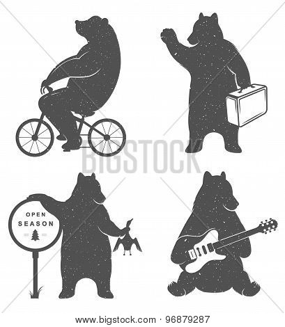 Sign Fun Bears