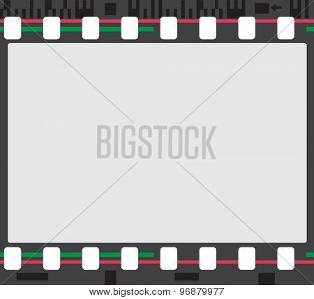 film stripe frame abstract background