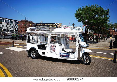 City tour vehicle, Liverpool.