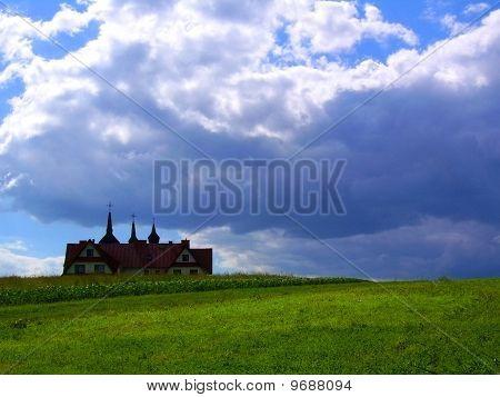 Presbytery in a field