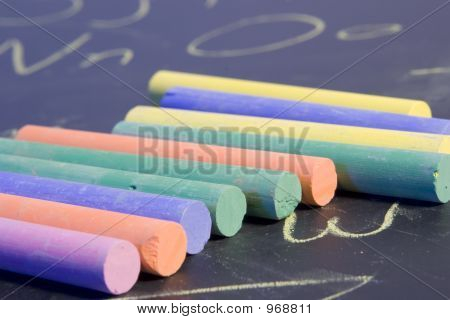 Multi Color Chalk