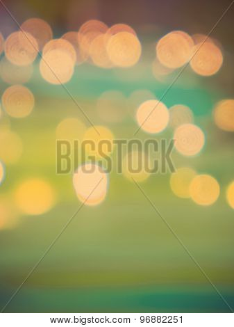 Abstract Blur Background Vintage Color