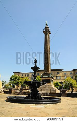 The Steble Fountain, Liverpool.