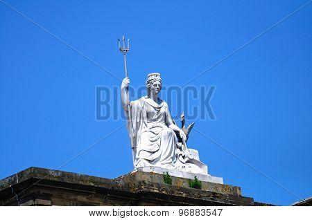 Britannia statue, Liverpool.