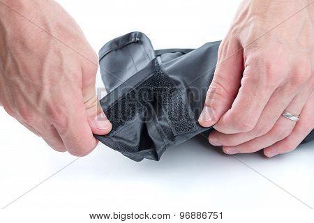 Hands Opening Velcro