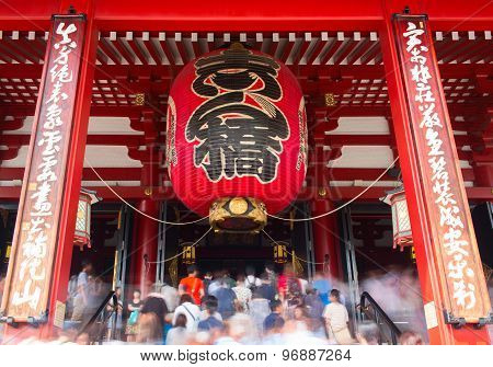 Sensoji is an ancient Buddhist temple located in Asakusa, Tokyo