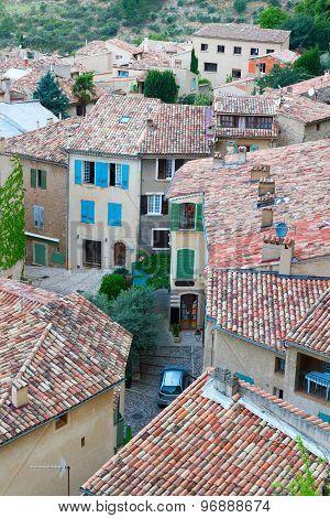 Moustiers-Sainte-Marie, France, Provence.