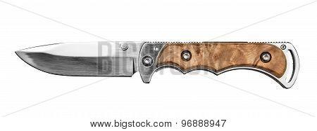Hunting knife.