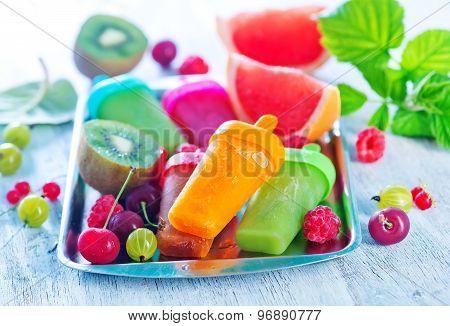 Homemade Fruit Icecream