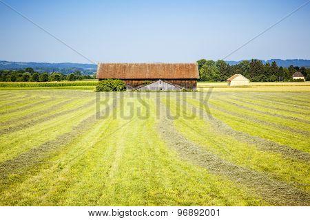 An image of a hut near Weilheim Bavaria Germany