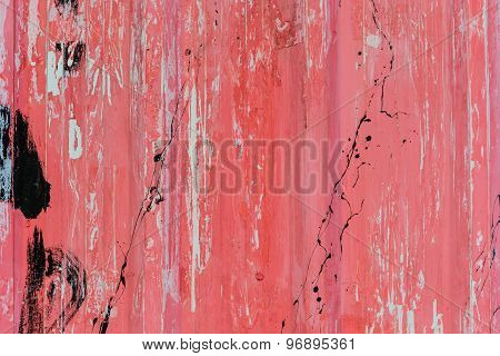Old Grunge And Rusty Wall Textured Background
