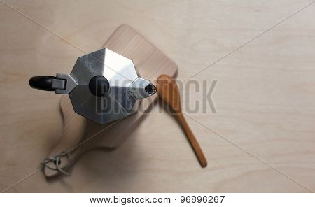 Coffer Maker On The Wooden Background