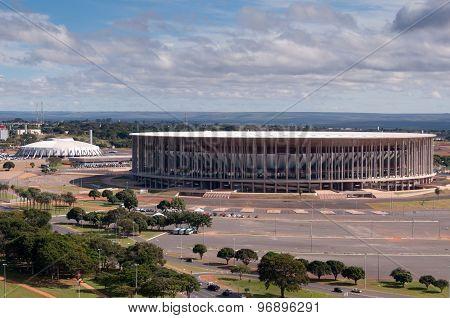 Football Stadium in Brasilia