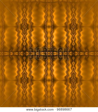 Seamless pattern gold brown