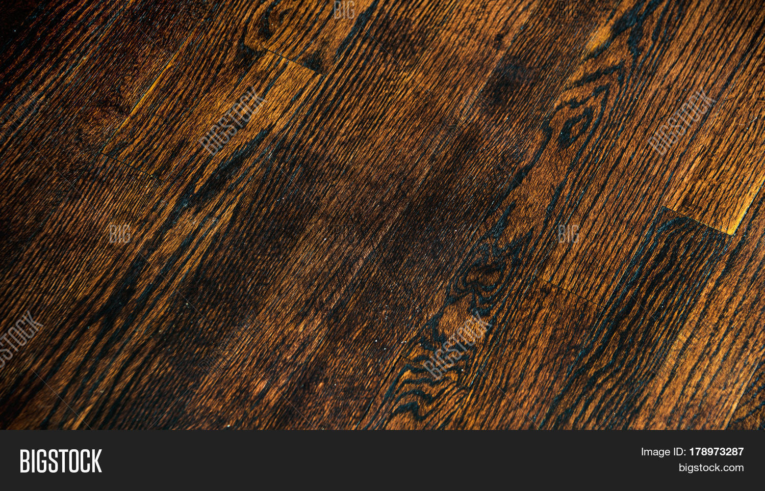 dark wood floor pattern. Dark wood floor texture and background  Brown painted Old italina Wood Floor Texture Background Image Photo Bigstock