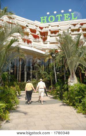 Seniors And Hotel