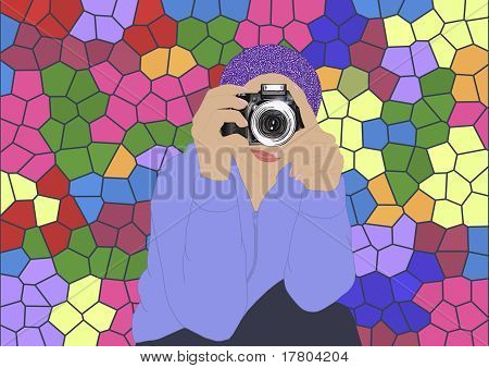 Photographer. Violet