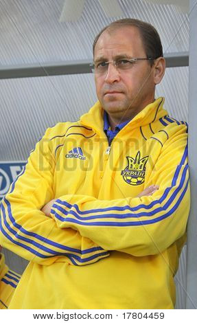 Head Coach Of Ukraine (U-21) National Team Pavlo Yakovenko