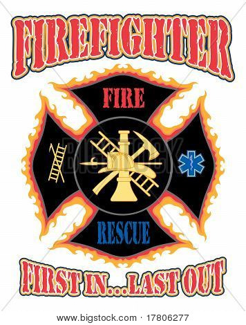 Firefighter First In Design