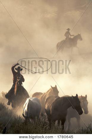 Cowboys no trabalho