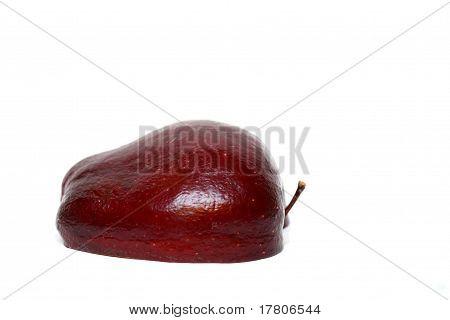 half an apple