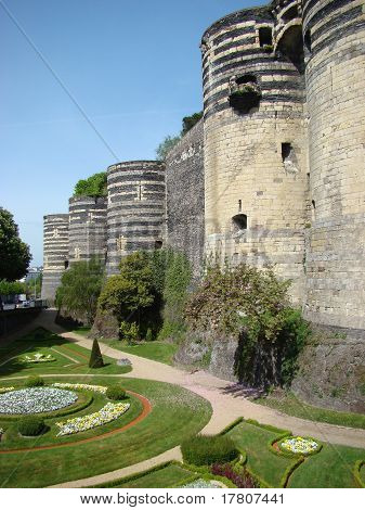Angers Castle, France