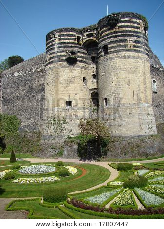 Chateau Angers, France