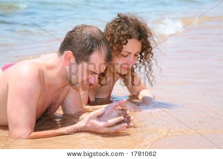 Couple At The Sea