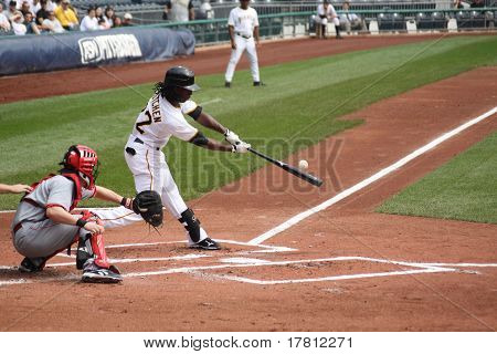Andrew McCutcheon of the Pittsburgh Pirates