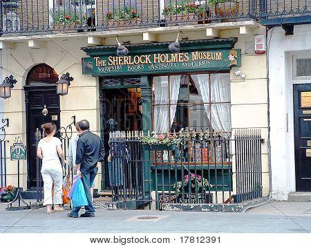 Baker Street, Home of Sherlock Holmes, London, England