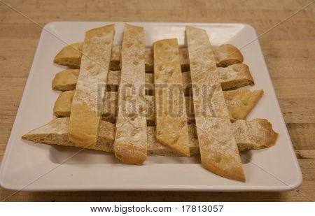 Plate Of Ciabatta