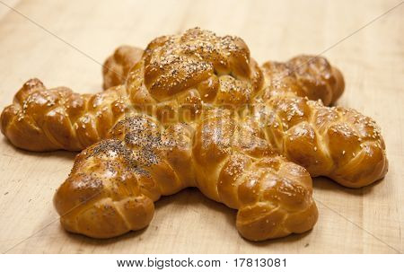 Sunburst Challah Bread