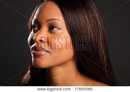 Stunning beautiful black woman
