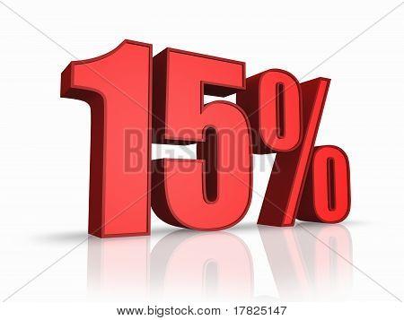 Red Fifteen Percent