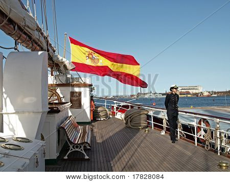 Spanish Navy Ship