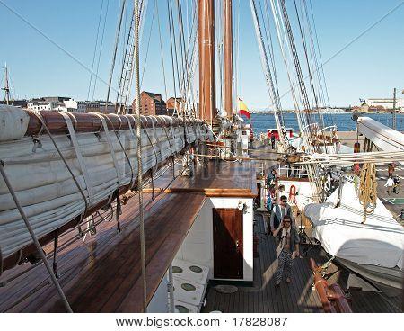 Spanish Ship Visitors